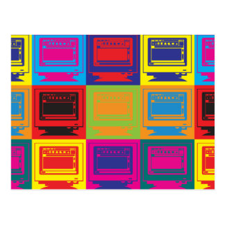 Arte pop de la autoedición postales