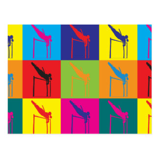 Arte pop de la bóveda de poste tarjetas postales