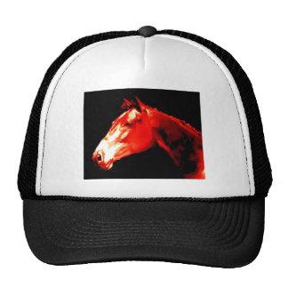 Arte pop de la cabeza de caballo gorros