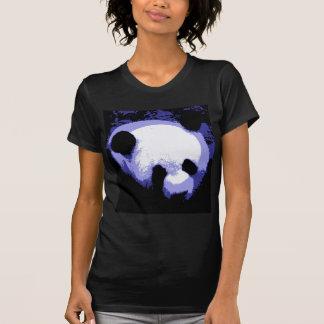 Arte pop de la cara de la panda playera