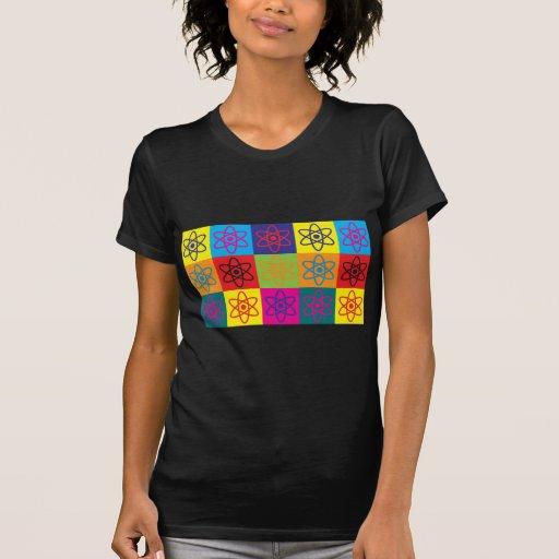 Arte pop de la física nuclear t-shirts
