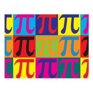 Arte pop de la matemáticas postales