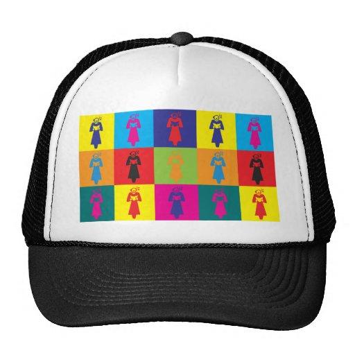 Arte pop de la ópera gorras