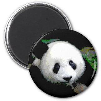 Arte pop de la panda imanes de nevera