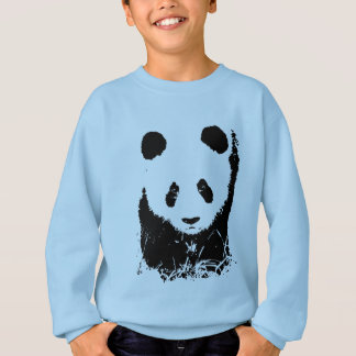 Arte pop de la panda sudadera