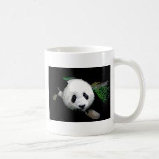 Arte pop de la panda taza de café