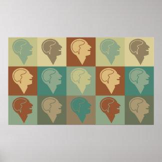 Arte pop de la psicología poster
