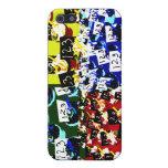 Arte pop de la repetición de la magdalena del prof iPhone 5 coberturas