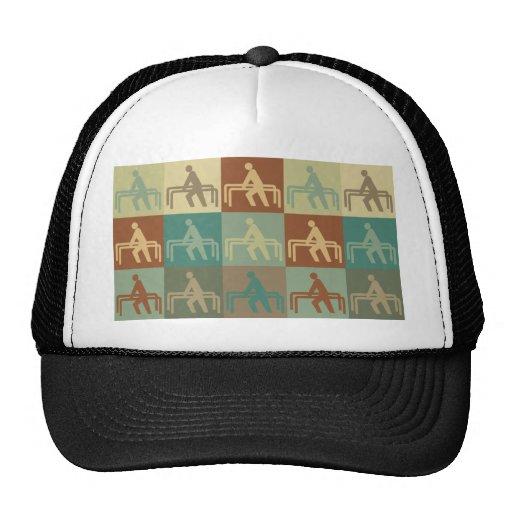 Arte pop de la terapia física gorra