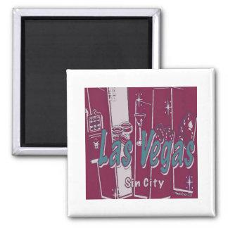 Arte pop de Las Vegas Iman Para Frigorífico