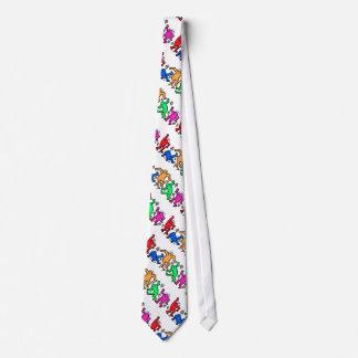 arte pop de los años 80 corbata