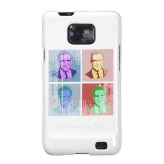 Arte pop de MITT ROMNEY Samsung Galaxy SII Carcasas