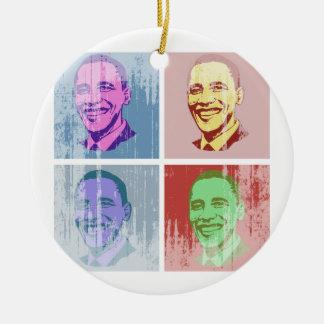 Arte pop de Obama Vintage.png Adorno Para Reyes
