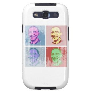 Arte pop de Obama Vintage.png Galaxy S3 Carcasa