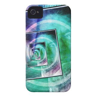 Arte pop de presidente Ronald Reagan iPhone 4 Case-Mate Carcasas