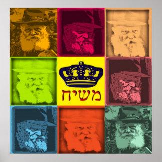 Arte pop de Rebbe Póster