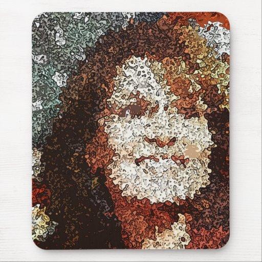 Arte pop de Sarah Palin Alfombrilla De Raton