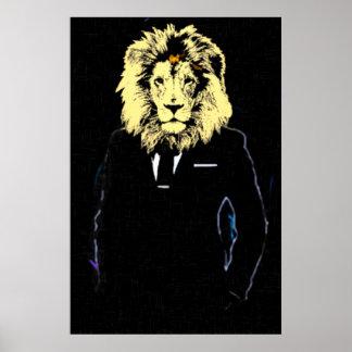 Arte pop de Sr. Lionheart Success Póster