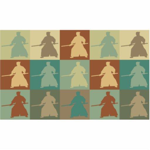 Arte pop del Aikido Esculturas Fotográficas
