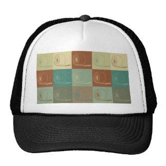 Arte pop del aislamiento gorras