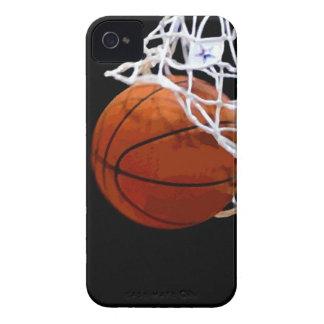 Arte pop del baloncesto iPhone 4 cárcasa