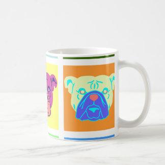 Arte pop del dogo taza clásica