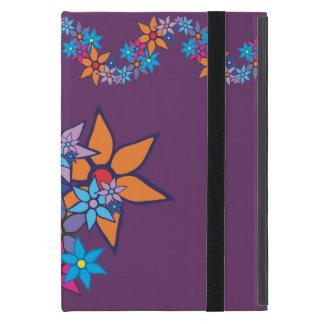 Arte pop del estampado de flores #2 iPad mini funda