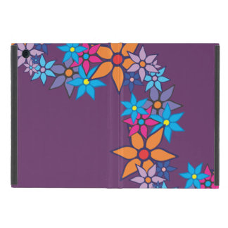 Arte pop del estampado de flores #3 iPad mini carcasas