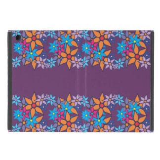 Arte pop del estampado de flores #6 iPad mini protector