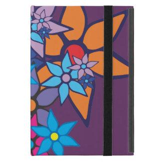 Arte pop del estampado de flores iPad mini protectores