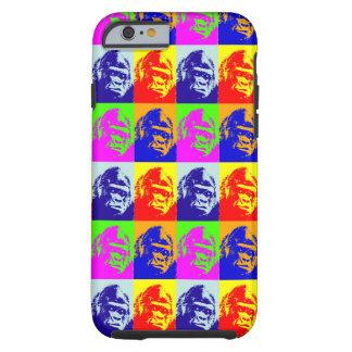 Arte pop del gorila funda de iPhone 6 tough