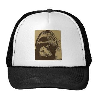 Arte pop del gorila gorra