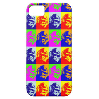 Arte pop del gorila iPhone 5 carcasa