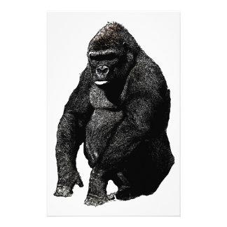 Arte pop del gorila  papeleria