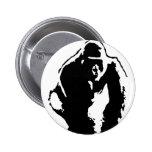 Arte pop del gorila pin