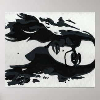 Arte pop del jade póster