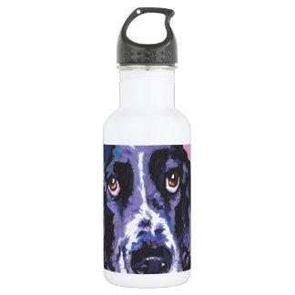 arte pop del perro de aguas de saltador