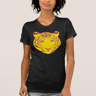Arte pop del tigre playera