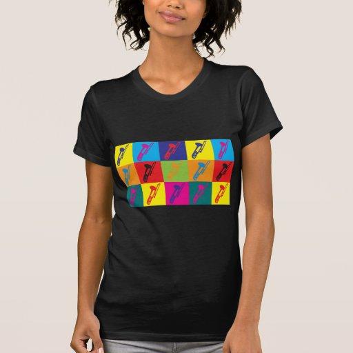 Arte pop del Trombone Camiseta