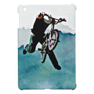 Arte pop del truco de la bici del estilo libre BMX iPad Mini Coberturas