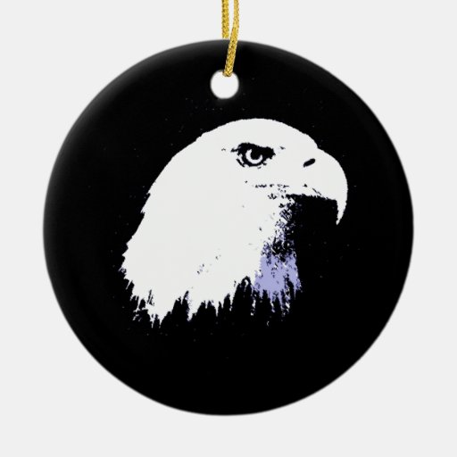 Arte pop Eagle calvo Ornamento De Reyes Magos