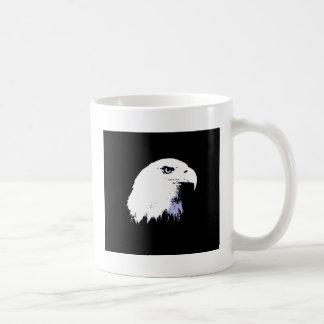 Arte pop Eagle calvo Taza De Café