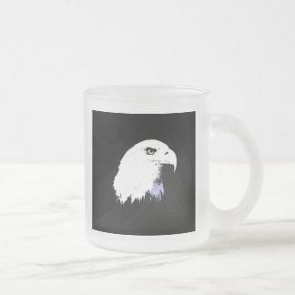 Arte pop Eagle calvo Tazas De Café