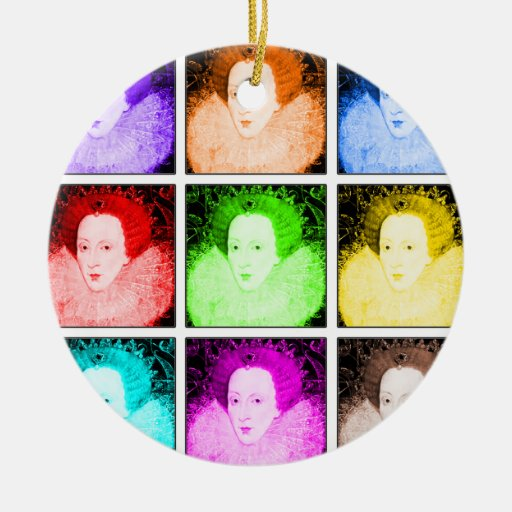 Arte pop Elizabeth I Ornamentos De Reyes Magos
