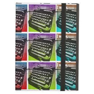 Arte pop fresco de la máquina de escribir para los
