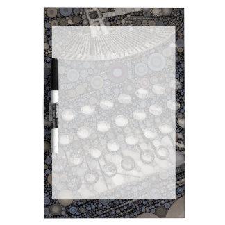 Arte pop fresco del diseño moderno de la máquina d tableros blancos