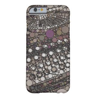 Arte pop fresco del diseño moderno de la máquina funda de iPhone 6 barely there
