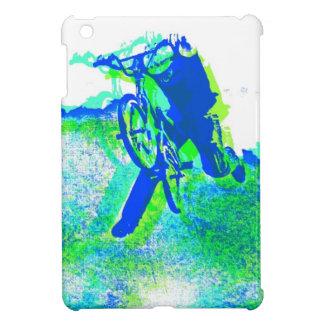 Arte pop fresco del truco de la bicicleta del esti iPad mini fundas