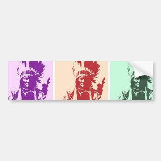 Arte pop Geronimo Pegatina Para Auto