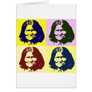 Arte pop Geronimo Tarjeta De Felicitación